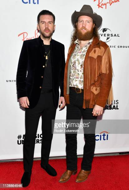 J Osborne and John Osborne of Brothers Osborne attends the Universal Music Group's 2019 After Party To Celebrate The GRAMMYs at ROW DTLA on February...