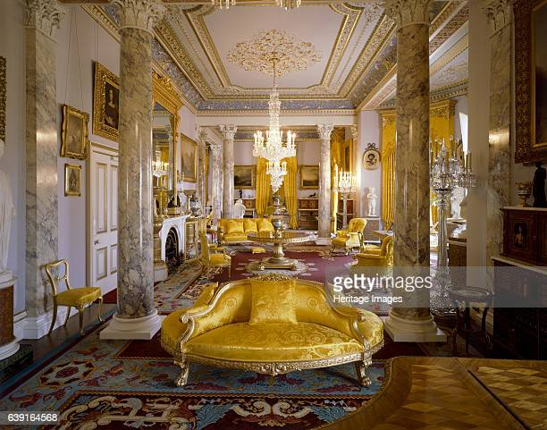 Osborne House, East Cowes, Isle of Wight, c1990-2010. The Drawing Room. A former royal residence in East Cowes, Isle of Wight, built between 1845 and...