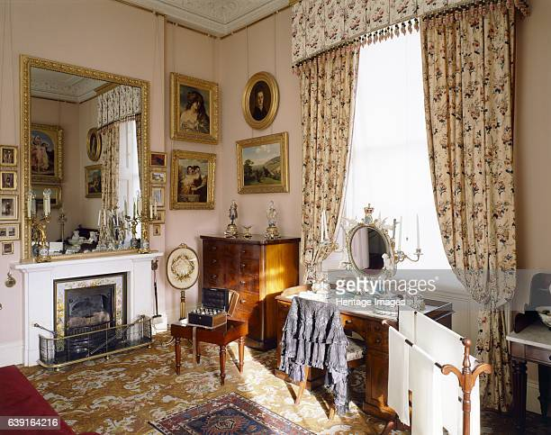 Osborne House, Isle of Wight, c1990-2010. Interior view of Queen Victoria's Dressing Room. Some items shown maybe on loan from the Royal Collection....