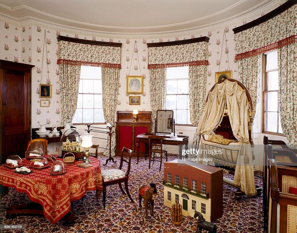 Nursery Bedroom, Osborne House, c1990-2010 : News Photo
