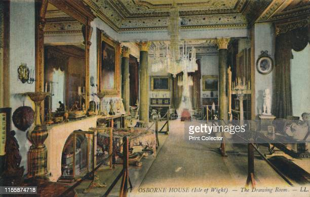 Osborne House - The Drawing Room'. Osborne House in East Cowes, Isle of Wight, was built between 1845 and 1851 for Queen Victoria and Prince Albert...