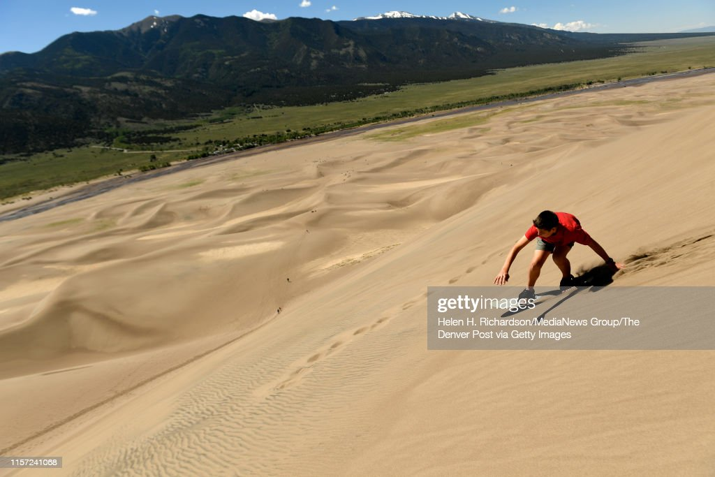 Sand Dunes National Park : News Photo