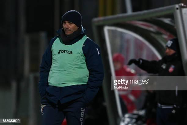 Oscar Arnaldo Brevi head coach of Alma Juventus Fano 1906 during the Lega Pro 17/18 group B match between Teramo Calcio 1913 and Alma Juventus Fano...