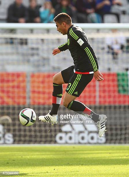 Oscar Bernal of Mexico controls the ball during the FIFA U20 World Cup New Zealand 2015 Group D match between Mexico and Mali at Otago Stadium on May...
