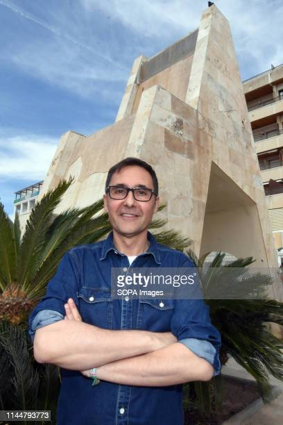 EL VENDRELL TARRAGONA SPAIN Oscar Blasco candidate from the political group Podemos for the mayor of El Vendrell Tarragona Spain
