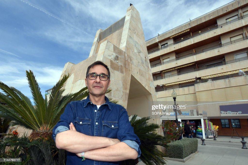 """Oscar Blasco, candidate from the political group """"Podemos""""... : Fotografía de noticias"""