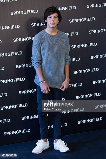 Oscar Casas presents Springfield Christmas Commercial at Club Allard on October 6 2016 in Madrid Spain