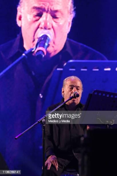 Oscar Chavez performing as part of Vive Latino 20th Festival Iberoamericano de Cultura Musical on March 16 2019 in Mexico City Mexico