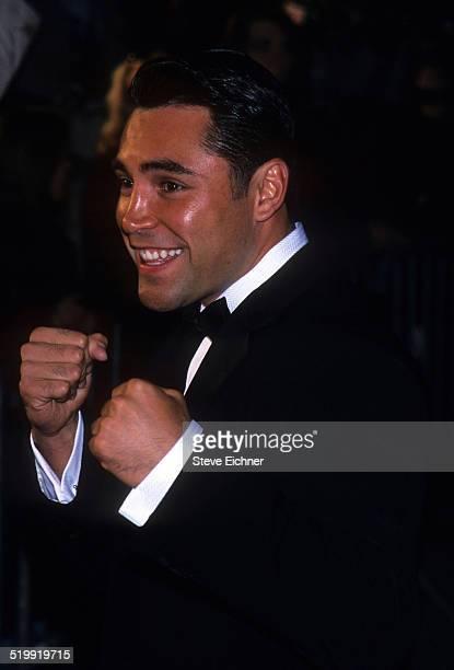 Oscar De La Hoya at GQ Man of the Year awards, New York, October 21, 1999.