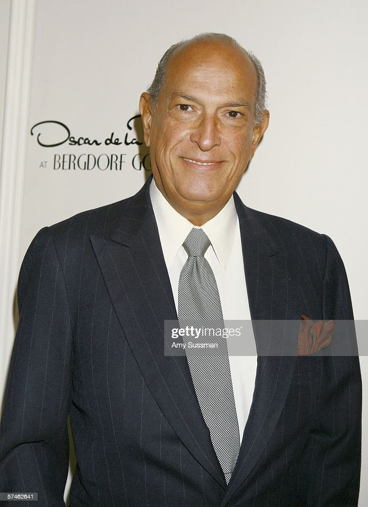 Oscar De La Renta Celebrates His 35th Anniversary With Bergdorf Goodman