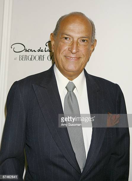 Oscar de la Renta attends the celebration of Oscar de la Renta's 35th Anniversary at Bergdorf Goodman April 26 2006 in New York