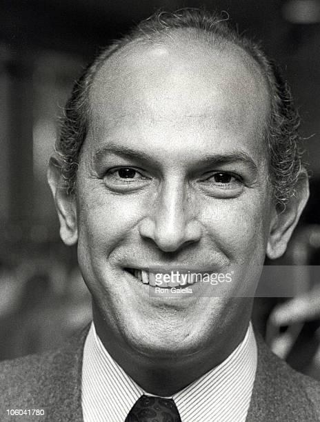 Oscar de la Renta during Oscar de la Renta Sighted at his New York City Showroom January 22 1979 at Oscar de la Renta's New York City Showroom in New...