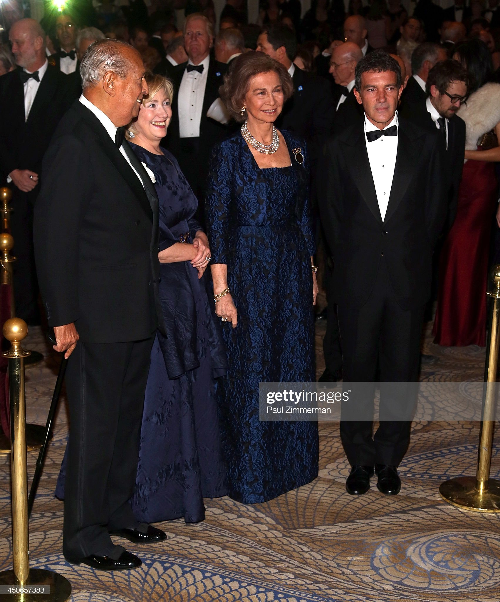 Queen Sofia Spanish Institute 2013 Gold Medal Gala : News Photo