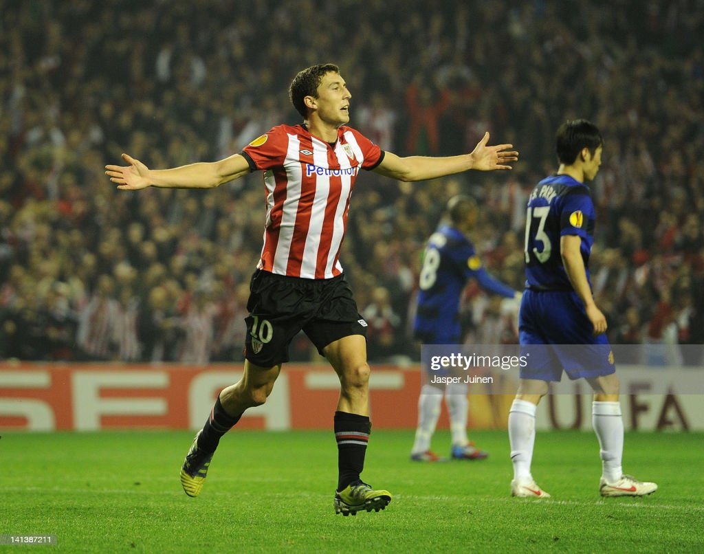 Athletic Bilbao v FC Manchester United - UEFA Europa League Round of 16 : ニュース写真