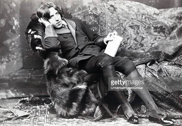 Oscar Fingal O'Flahertie Wills Wilde 1854 1900 Irish novelist playwright freemason wit Photograph by Napoleon Sarony