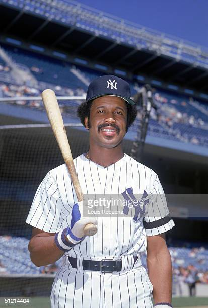 Oscar Gamble of the New York Yankees poses for a portrait Oscar Gamble played for the New York Yankees in 1976 and again from 19791984