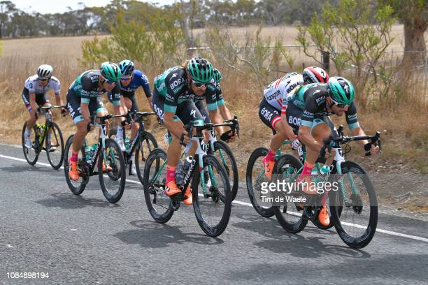 Oscar Gatto of Italy and Team Bora-Hansgrohe / Daniel Oss of Italy and Team Bora-Hansgrohe / during the 21st Santos Tour Down Under 2019, Stage 5 a...