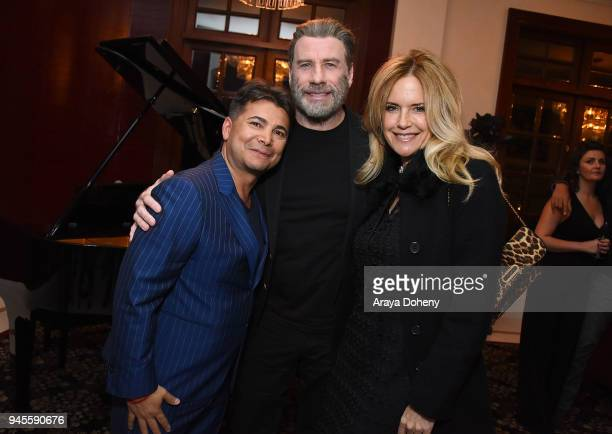 Oscar Generale John Travolta and Kelly Preston attend John Travolta Victorino Noval Honor Oscar Generale and the Cast of 'Moose' 'Speed Kills' on...