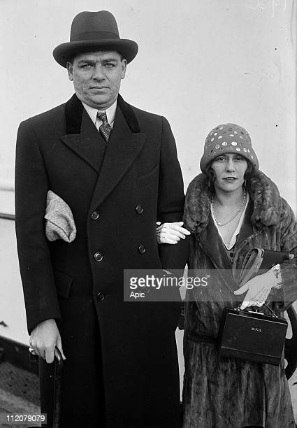 Oscar Hammerstein II american producer and his wife c 1925