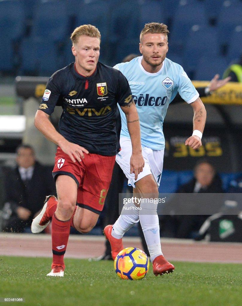 SS Lazio v Genoa - Serie A : Photo d'actualité