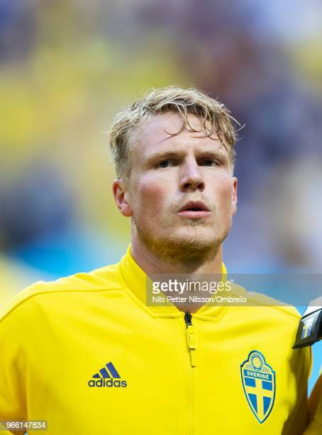 Oscar Hiljemark of Sweden ahead of the International Friendly match between Sweden and Denmark at Friends Arena on June 2 2018 in Solna Sweden