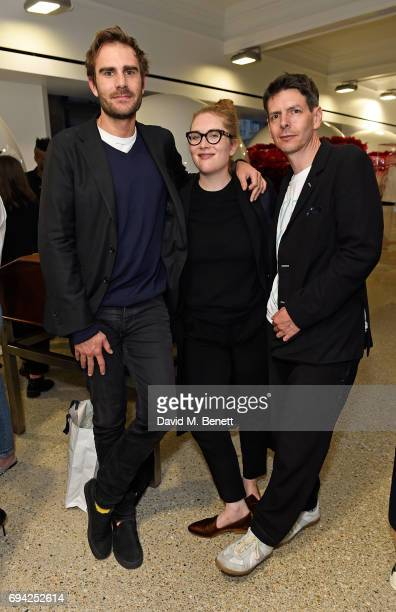 Oscar Humphries guest and David Owen attend a cocktail event for the launch of a special Gucci PreFall capsule exclusive to Dover Street Market on...