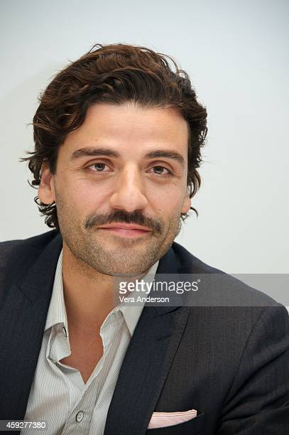 Oscar Isaac at the 'A Most Violent Year' Press Conference at the Four Seasons Hotel on November 18 2014 in Beverly Hills California