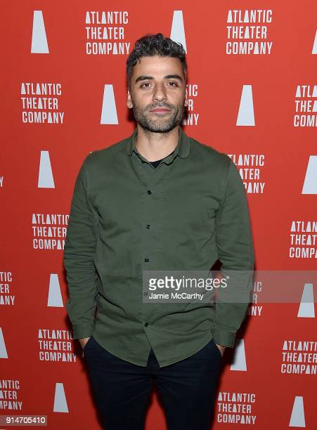 Oscar Isaac attends Hangmen Opening Night After Party at Dream Downtown on February 5 2018 in New York City