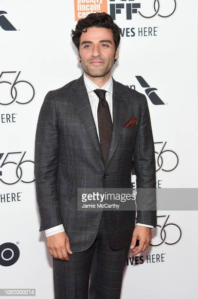 Oscar Isaac attends the At Eternity's Gate premiere during the 56th New York Film Festival at Alice Tully Hall Lincoln Center on October 12 2018 in...