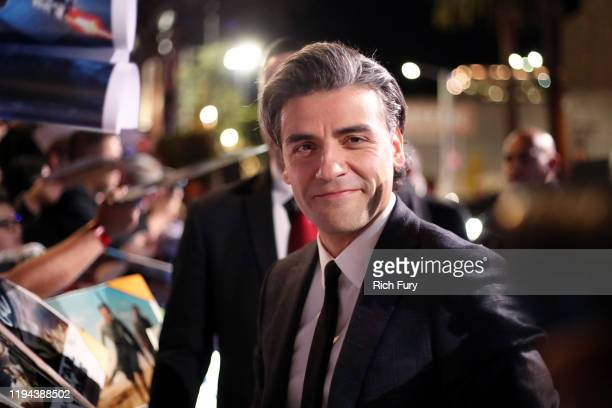 Oscar Isaac attends the Premiere of Disney's Star Wars The Rise Of Skywalker on December 16 2019 in Hollywood California