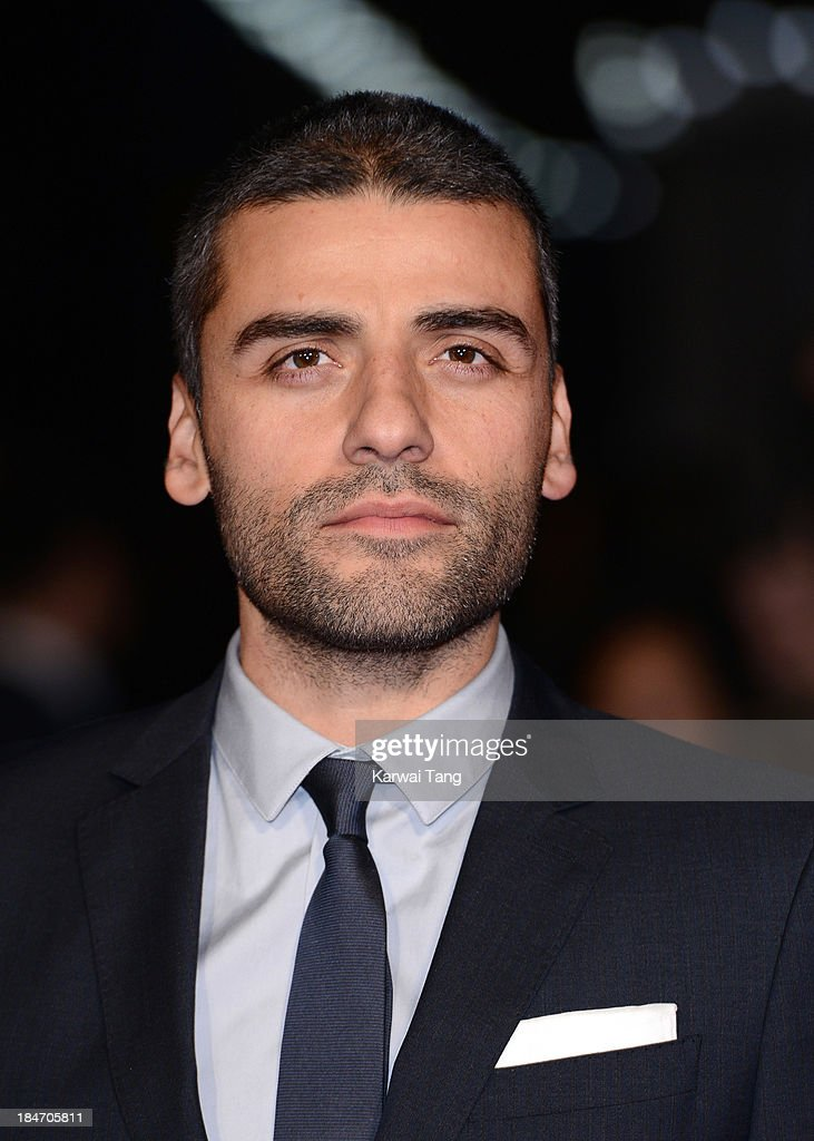 Oscar Isaac attends the screening of 'Inside Llewyn Davis' Centrepiece Gala supported by the mayor of London during the 57th BFI London Film Festival at the Odeon Leicester Square on October 15, 2013 in London, England.
