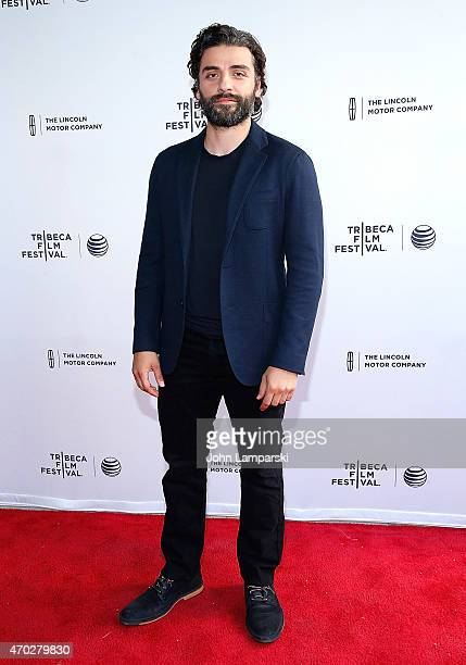 Oscar Isaac attends World Premiere Narrative Mojave during the 2015 Tribeca Film Festival at SVA Theatre 1 on April 18 2015 in New York City