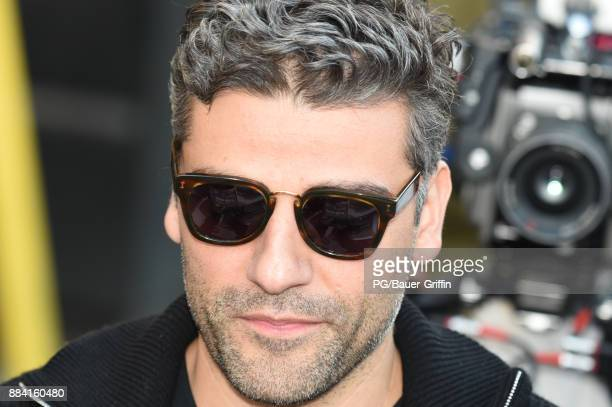 Oscar Isaac is seen on December 01 2017 in Los Angeles California