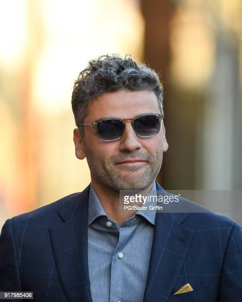 Oscar Isaac is seen on February 13 2018 in Los Angeles California