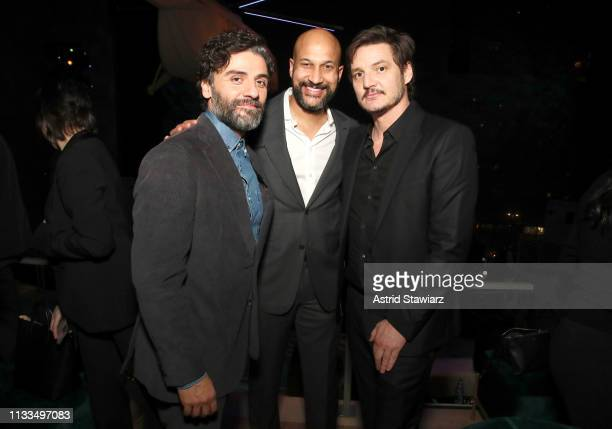 Oscar Isaac KeeganMichael Key and Pedro Pascal attend Netflix World Premiere of TRIPLE FRONTIER at Lincoln Center on March 03 2019 in New York City