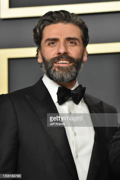 Oscar Isaac poses in the press room during the 92nd Annual Academy Awards at Hollywood and Highland on February 09 2020 in Hollywood California