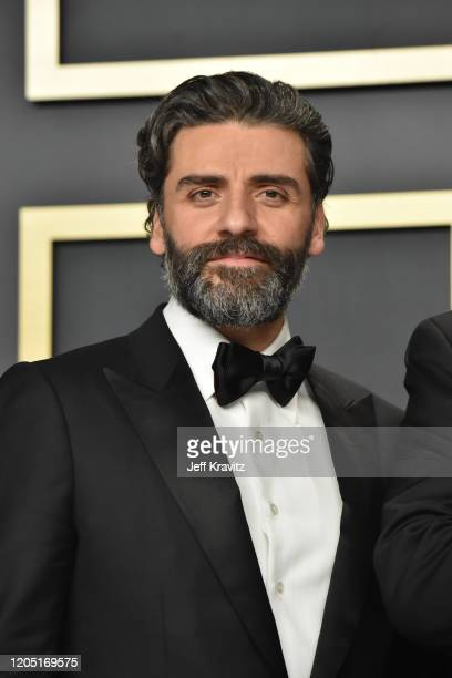 Oscar Isaac poses in the press room during the 92nd Annual Academy Awards at Hollywood and Highland on February 09, 2020 in Hollywood, California.