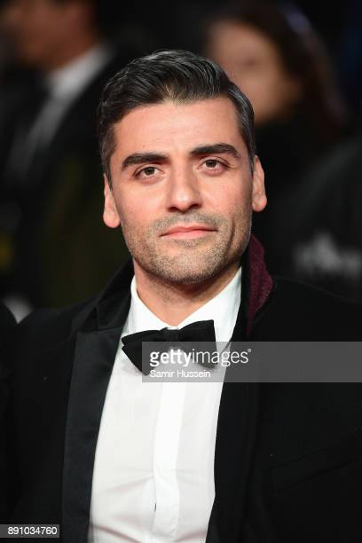 Oscar Isaac^attends the European Premiere of 'Star Wars The Last Jedi' at Royal Albert Hall on December 12 2017 in London England