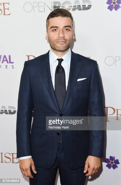 Oscar Issac attend the New York Screening of 'The Promise' at The Paris Theatre on April 18 2017 in New York City