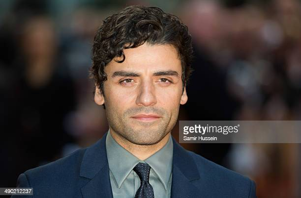 Oscar Issac attends the UK Premiere of The Two Faces Of January at The Curzon Mayfair on May 13 2014 in London England