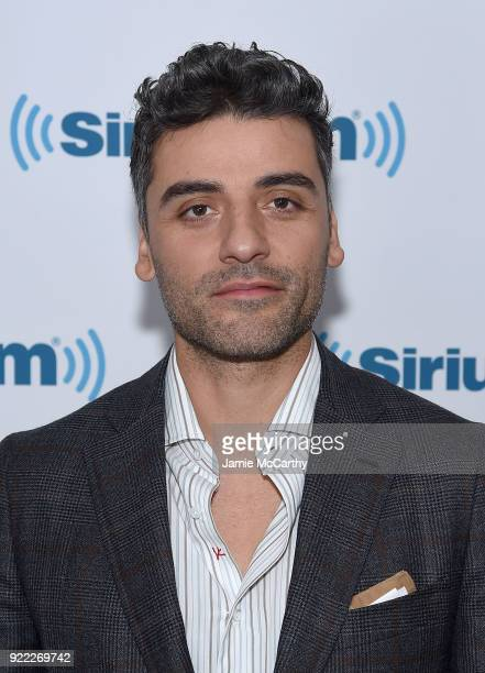 Oscar Issac visits SiriusXM at SiriusXM Studios on February 21 2018 in New York City