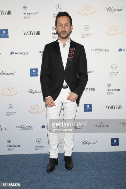 Oscar Madrazo attends the Happy Hearts Foundation gala at Sheraton Maria Isabel Hotel Towers on March 16 2017 in Mexico City Mexico