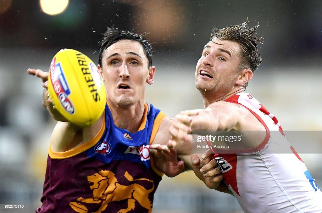 AFL Rd 10 - Brisbane v Sydney