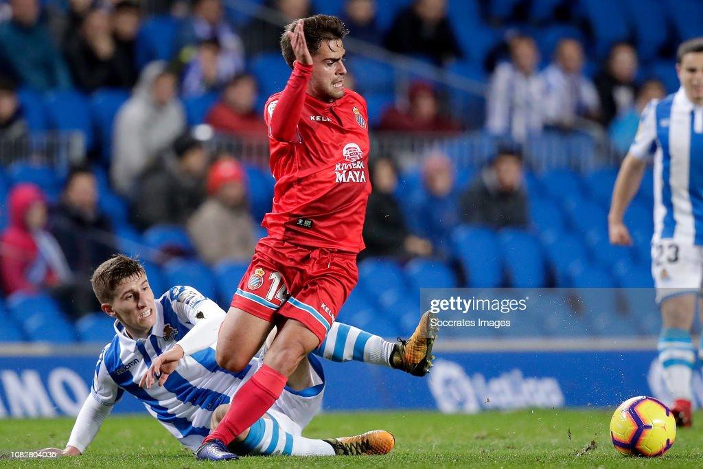 Real Sociedad v Espanyol - La Liga Santander : News Photo