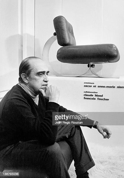 Oscar Niemeyer Brazilian architect on December 10 1977