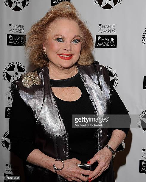Oscar nominated composer Carol Conners poses during the Hollywood Arts Council's 25th Annual Charlie Awards Luncheon at The Roosevelt Hotel on March...