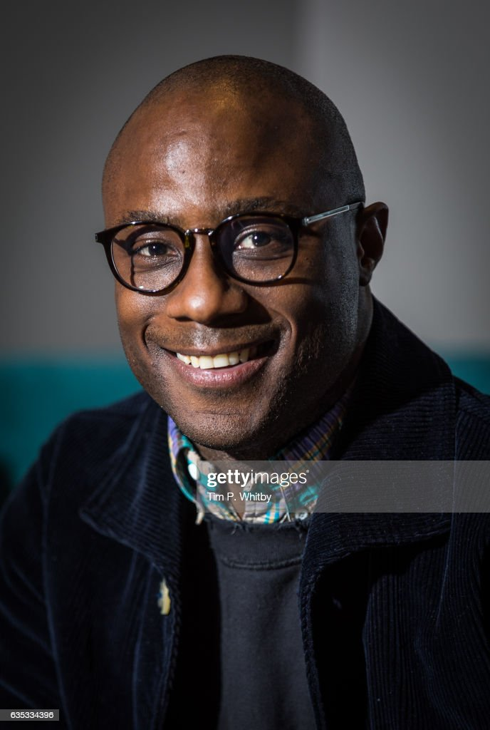 Oscar nominated director Barry Jenkins poses for a photo before taking part in a Q&A at a preview screening of Moonlight at BFI Southbank on February 14, 2017 in London, United Kingdom.