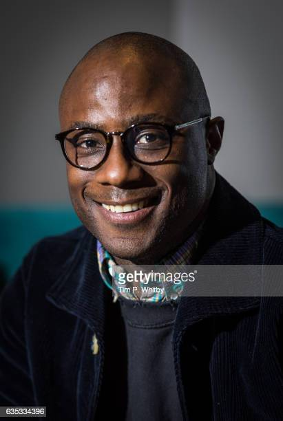 Oscar nominated director Barry Jenkins poses for a photo before taking part in a QA at a preview screening of Moonlight at BFI Southbank on February...