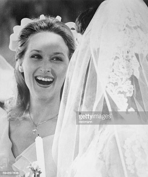 Oscar Nominee Actress Meryl Streep is a member of a wedding party in this scene in the movie The Deer Hunter a Universal release Miss Streep has been...