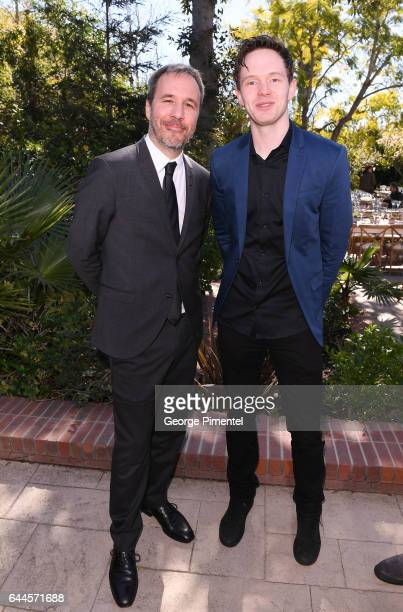 Oscar Nominee Best Achievement in Directing Arrival Denis Villeneuve and actor Mark O'Brien attend the Canadian Brunch Reception Honoring Canadian...